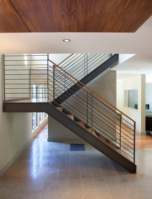 Contemporary Stair Carpet : Stairs - Contemporary - Staircase - san francisco - by Ohashi Design ...