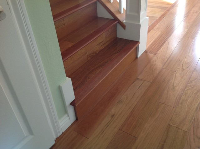 Stairs traditional staircase san francisco by for Hardwood floor dealers
