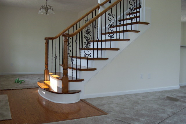Superior Stairs, Trim, Decks, And Custom Carpentry Traditional Staircase