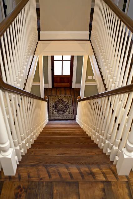 Stairs farmhouse-staircase