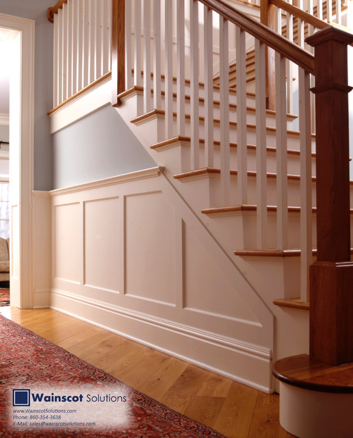Stairway Designs By Wainscot Solutions Staircase
