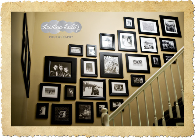 Frame Galleries eclectic-staircase