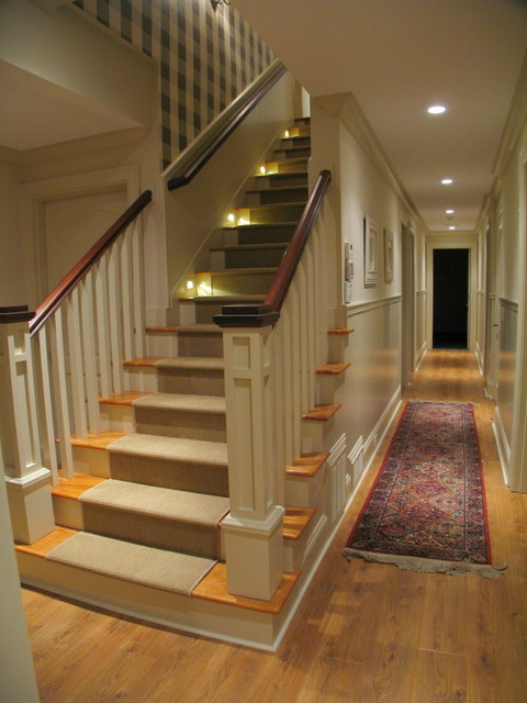 Stairways & Elevator traditional-staircase