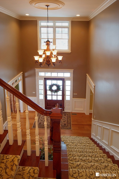Hanging Chandelier Two Story Foyer : How high do you hang a chandelier