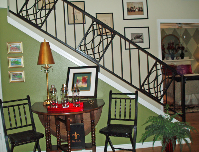 Stairway Update eclectic-staircase