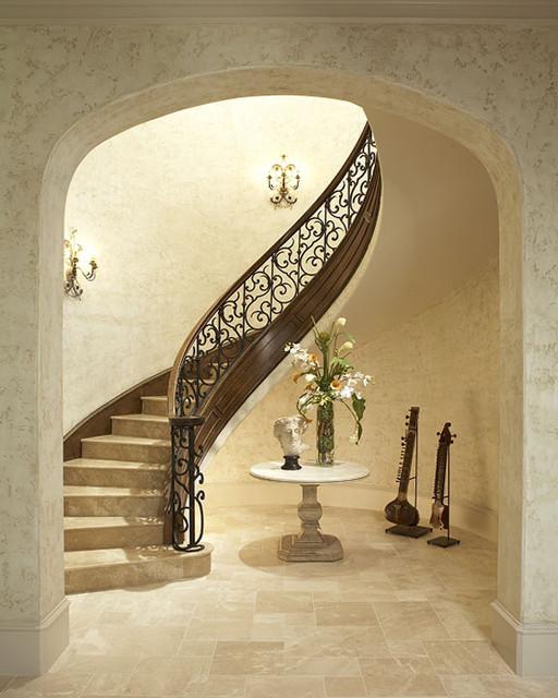 Stairways mediterranean-staircase