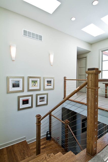Stairwell contemporary-staircase
