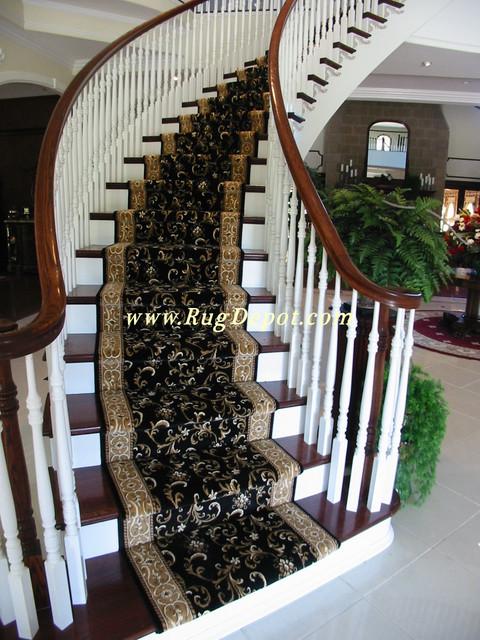 stanton black runner custom install nj sud ouest am ricain escalier autres p rim tres. Black Bedroom Furniture Sets. Home Design Ideas