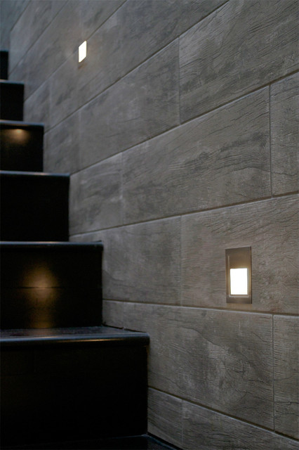Step Recessed Stair Light By Edge Lighting Contemporary Staircase By Lightology
