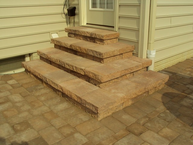 Steps and Landings traditional-staircase