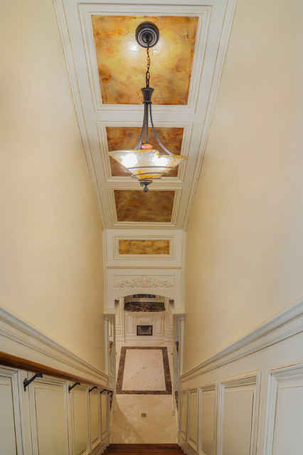 Steve S Luxury Basement Traditional Staircase Chicago By Sebring Services