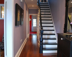 Stewart St. entry eclectic-staircase