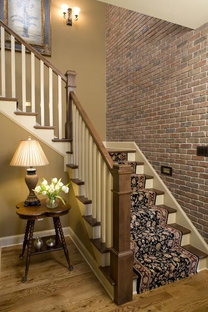 Staircase Farmhouse Staircase Minneapolis By Bob