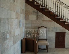 Stone cladding the 'Kronos Stone' traditional staircase