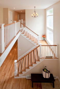 Stone Farm traditional-staircase