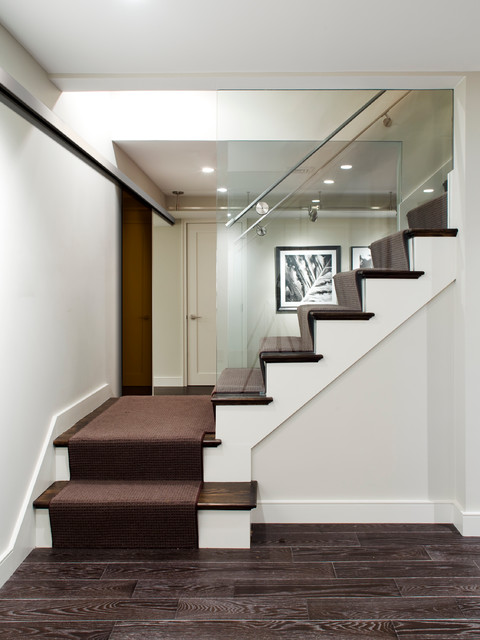 Stoneham Residence contemporary-staircase
