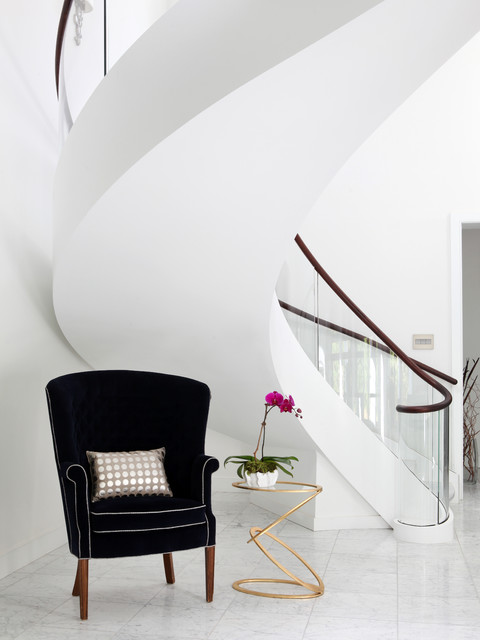 Lane - Floating Staircase Side - Contemporary - Staircase - New York ...
