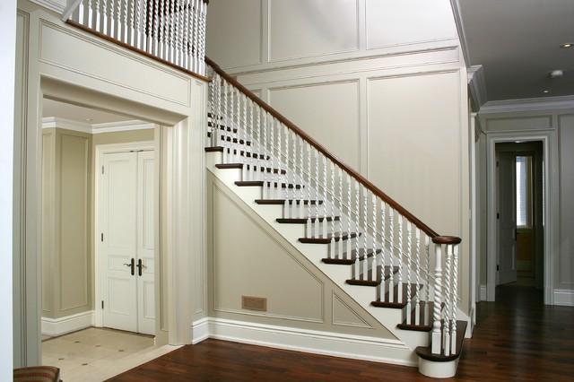 Straight Stairs - Traditional - Staircase - Toronto - by ...