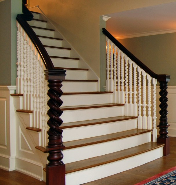 Antique Restoration Traditional Staircase New York By Classic
