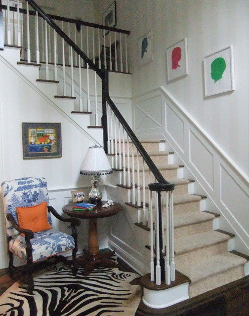 Sue De Chiaras home contemporary staircase