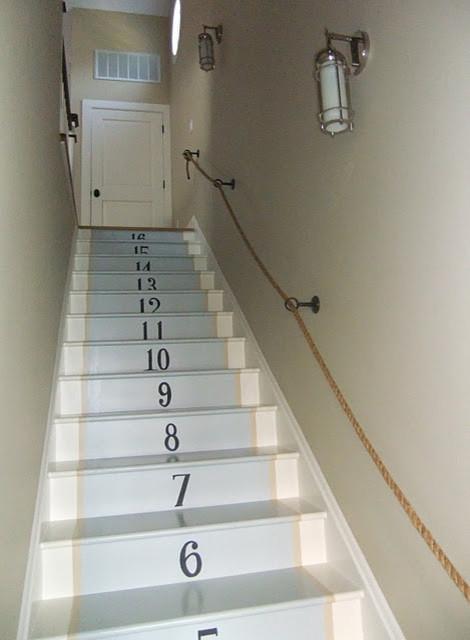 Sue De Chiara's home contemporary-staircase