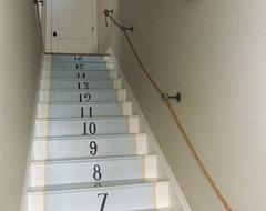 Sue De Chiara's home contemporary-staircase