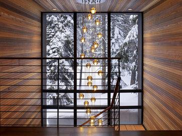Sugar Bowl Residence modern staircase