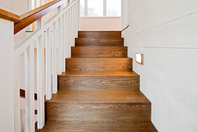 Summer Home rustic-staircase