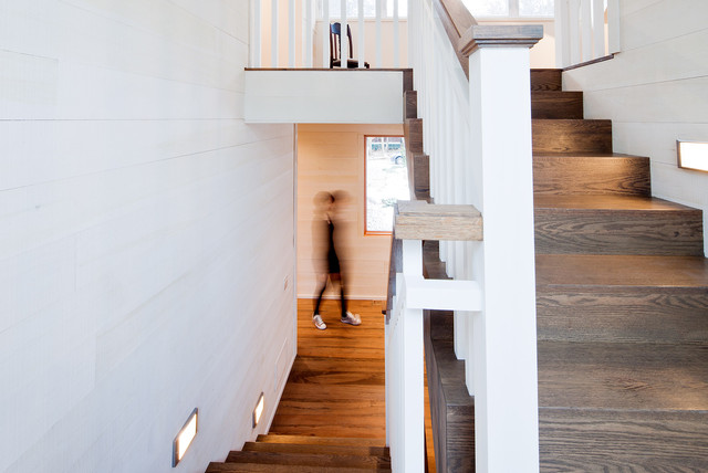 Eight Mile Point Road, Ore-Medonte Summer Home modern staircase