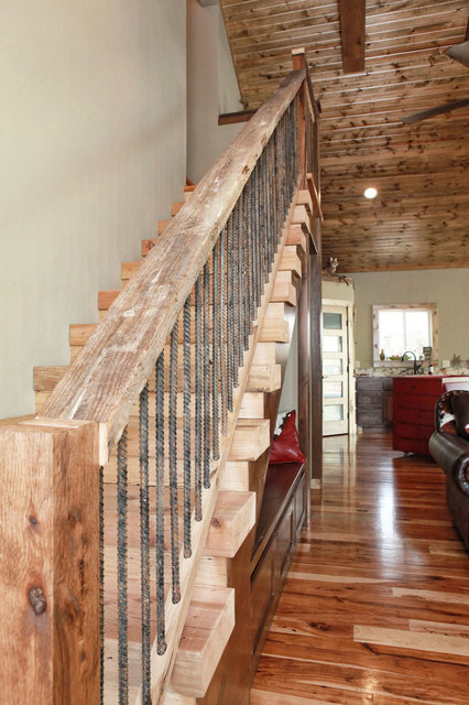 Summerside Living Rustic Staircase