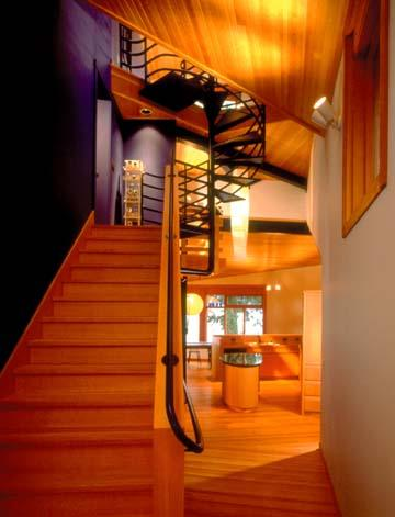 Sunny Bay Residence contemporary-staircase