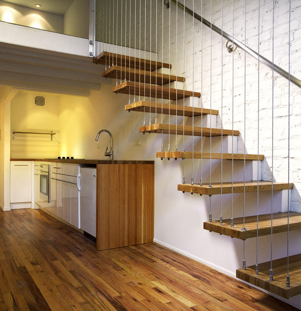 Beau Staircase   Modern Staircase Idea In New York