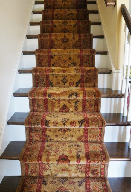 T amp J New Home Flooring Traditional Staircase Other