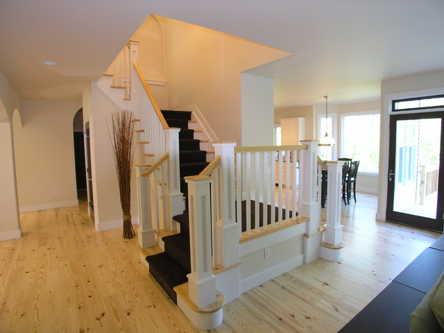 Inspiration for a timeless staircase remodel in Grand Rapids