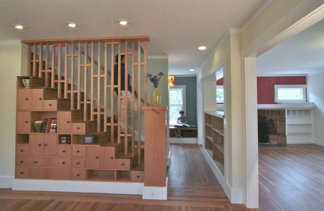 Tansu Home - Craftsman - Staircase - San Francisco - by Mikiten ...