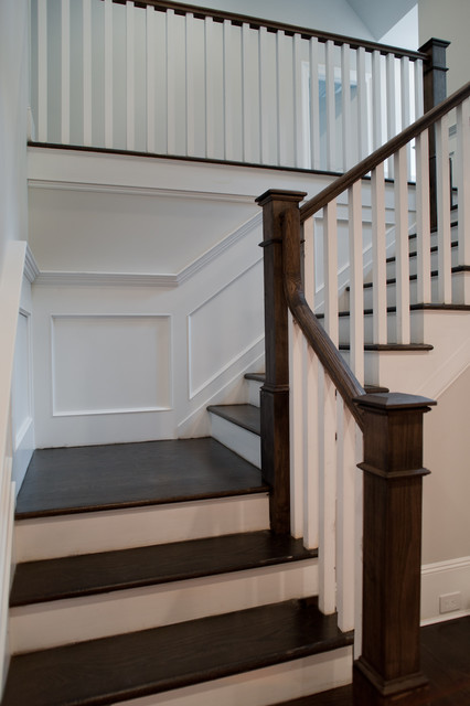 Tenafly Custom Home Traditional Staircase New York