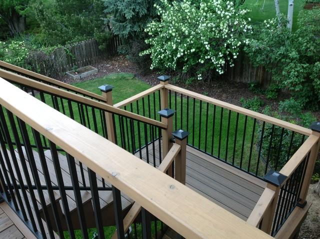 Tennyson Deck traditional-staircase