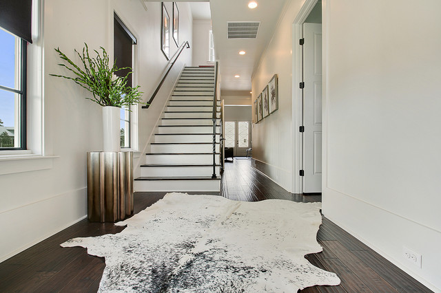 Foyer Rug Juice : Terra bella village townhomes contemporary staircase