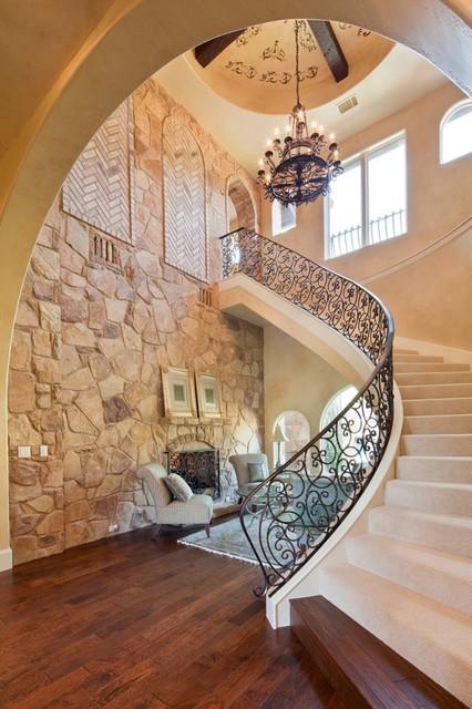 8001 Big View mediterranean-staircase