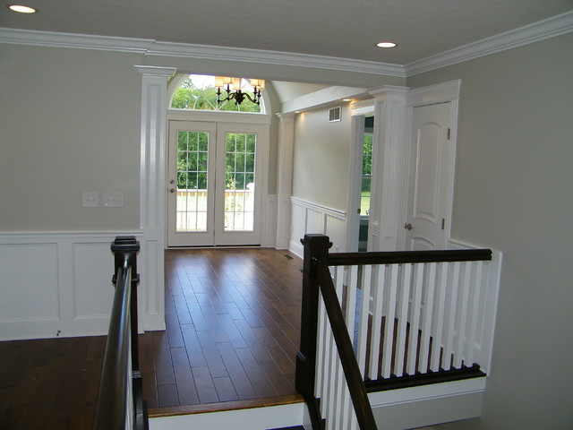 The Augusta, 2012 BIA Best of the Best Home Design Winner traditional-staircase