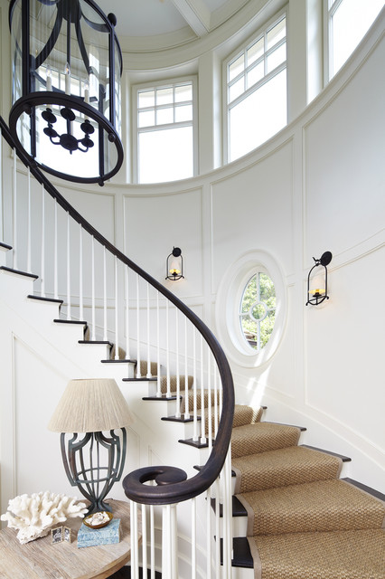 The Beach House Style Staircase Charleston