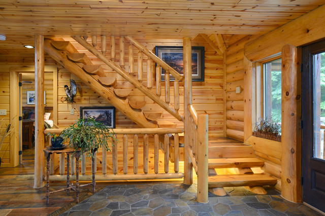 Etonnant The Beaver Creek Rustic Staircase