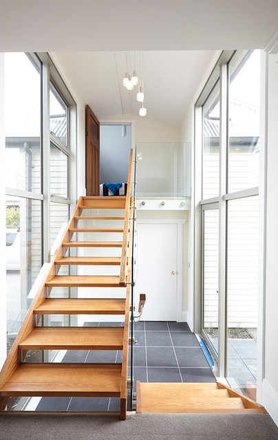 the block nz season ii contemporary staircase auckland by