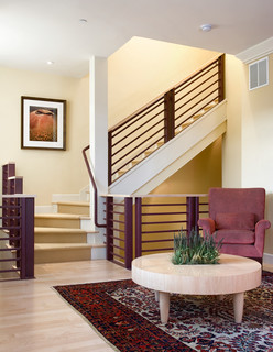 The Broadway Brownstones Transitional Staircase