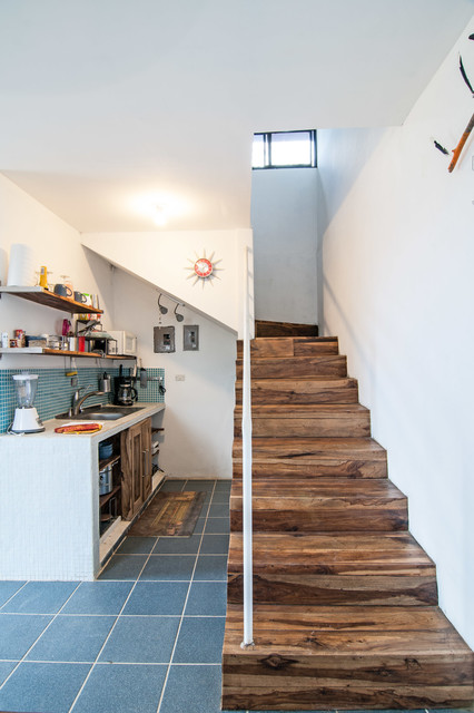 The Casita Twins, efficient living with beautiful views. contemporary-staircase