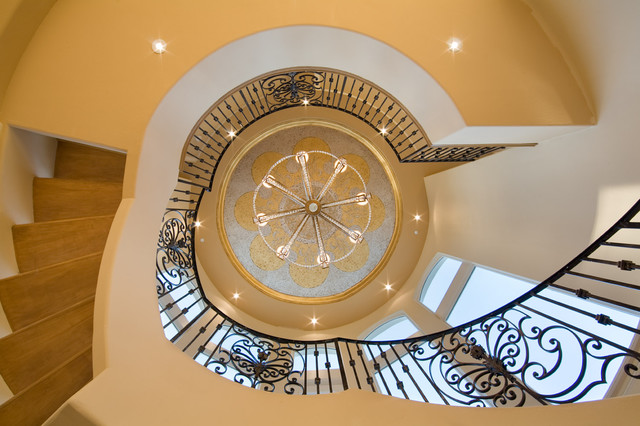 The Crown traditional-staircase