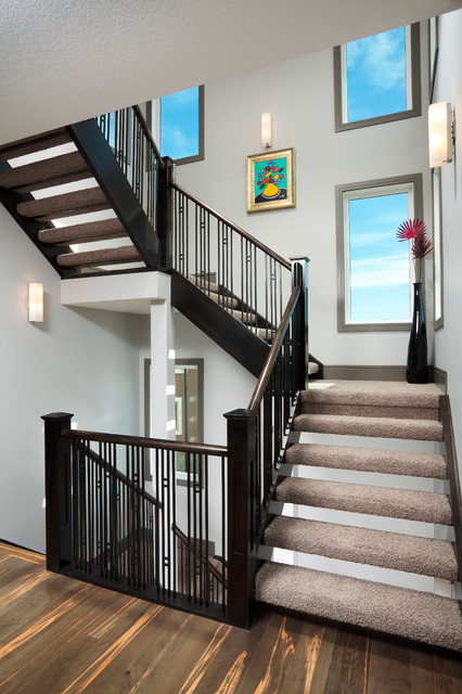 The Derelict Contemporary Staircase Calgary By