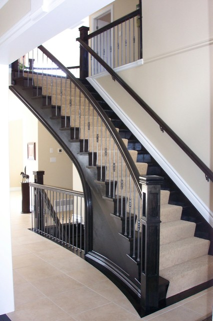 The Estate Newel Staircase