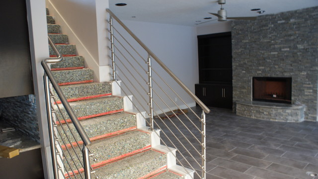The Frome Residence - Contemporary - Staircase - houston