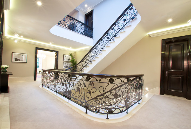 The Halcyon Winnington Road London Staircase